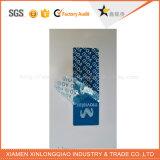 Sticker van de Stamper van de anti-Vervalsing van de Veiligheid van de Douane van de Druk van het etiket de Duidelijke Nietige