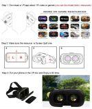 Vidros de Vr 3D da realidade virtual da alta qualidade para o telefone 4-6inch móvel