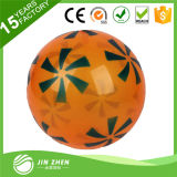 PVC de Inflable de la impresión de la insignia de Cusotm que hace publicidad de la bola con la bomba de aire