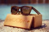 Óculos de sol de madeira Fx84 do templo de bambu quente da venda