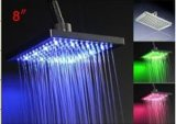 Teste di acquazzone chiare del sensore di temperatura LED con colore differente