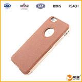 Caixa do telefone móvel de couro genuíno de 100% para o iPhone 6