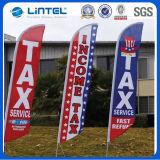 Bandierina palo di vendita calda (LT-17C) di volo della bandierina della bandiera