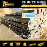 Фабрика концентратора таблицы штуфа силы тяжести сепаратора оптовой добычи золота вибрируя