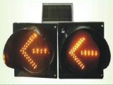 Solar-LED-Richtungs-Pfeil-Verkehrszeichen