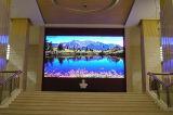 tamanho do pixel de 3mm usado para a parede interna do vídeo do diodo emissor de luz P3