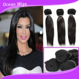 "8A Virgin Hair 8 "" - 36 "" CheapインドのHuman Hair、Remy Human Hair、Raw Unprocessed Virginのインド人Hair"
