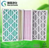 Cartão do tamanho do cliente/filtro de ar de papel do filtro do condicionamento de ar do frame