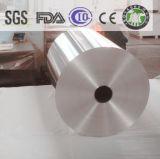 Genio de 8011 O 9 micrones de 200m m de la anchura de aluminio de rodillo del papel