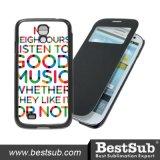 Bestsub personaliseerde het Vouwbare Geval van de Telefoon voor de Melkweg S4 I9500 van Samsung (SSG58K)