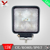 LED Trabajo Offroad Lámpara 15W Square