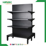 Pegboard Perforated Back Panel Supermarket Gondola Shelves