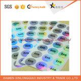 Kundenspezifische Sicherheits-bunter anhaftender Aufkleber-Hologramm-Aufkleber für die Anti-Fälschung