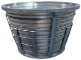 High Quality를 가진 스테인리스 Steel Centrifugal Basket