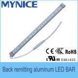 Barra rigida di rimessa posteriore dell'alluminio LED per la pubblicità della casella