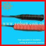 Manicotto di Shrink di calore nero di Skifproof per i bastoni di hokey
