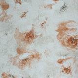 Papel pintado casero profundamente grabado impermeable Wallcoverings del vinilo del PVC