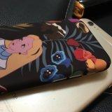 Caja linda encantadora de lujo de la PC de la flor de la muchacha para iPhone6