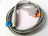 Cable del tronco ECG de Datascope Snap&Clip 6pin-Siemens