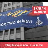 Bandera de encargo del acontecimiento del vinilo, bandera al aire libre del PVC para hacer publicidad