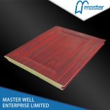 Single Parking Door Insulated Panel/ /Steel Garage Door Panel