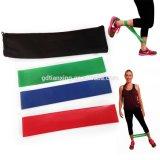 Vendas de la resistencia del ejercicio, vendas del bucle de la aptitud, vendas el 100% naturales de alta calidad del látex