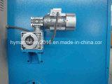 Cortadora de la máquina de corte de la guillotina hidráulica QC11y-20X3200 y de la placa de acero