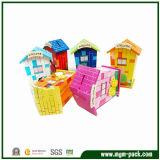 Juguete de madera del edificio de la manera de la manera de los niños educativos