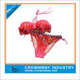 Heiße Verkaufs-Blumenauslegung-junge Dame-reizvolle Bikini-Abnutzung