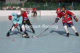 Carrelage de patinage de verrouillage, étage de cour de patinage de rouleau pour extérieur d'intérieur (professionnel de hockey-Champion/)