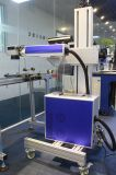 高精度の飛行は金属の銅の鉄のためのレーザーのマーキング機械を配管する