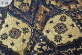 Tessuto del sofà della tappezzeria del jacquard dell'azzurro di oceano il grande (FTH31558)