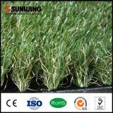 حد زخارف اللون الأخضر طبيعيّ اصطناعيّة اصطناعيّة عشب مغزول