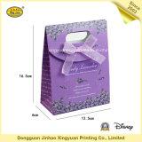 Цветастая бумажная хозяйственная сумка с тесемкой (JHXY-PBG0026)