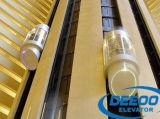 Elevación de visita turístico de excursión de Commerical de la cabina de cristal de la observación