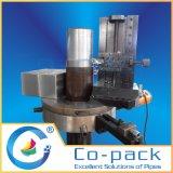 Machine de rotation de traitement axiale de poste d'outil de mur extérieur de pipe
