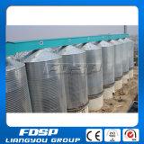 Silo galvanizado do aço inoxidável para o armazenamento do milho