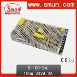 100W 24V AC-DC Enclosed Switching Power Supply mit Cer RoHS