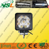 Indicatore luminoso di funzionamento di funzionamento automatico del camion di pollice contabilità elettromagnetica Worklamp dell'indicatore luminoso 27W 4 del LED