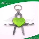 심혼에 의하여 형성되는 양극 처리된 승진 Keychain