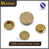 2015新しいデザインによって磨かれる金属のスナップボタン(SK-P193)