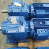 熱い販売は土台のSシリーズの平行シャフトの螺旋形の電気減力剤のGearmotorの速度減力剤を縫う