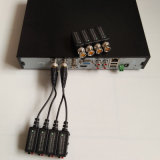 Kombinierbarer HD-Cvi/Tvi/Ahd passiver videoBalun mit Zopf (VB109pH)
