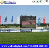 P10 Openlucht LEIDENE van het Stadion van het Voetbal Vertoning voor Adverterend Comité