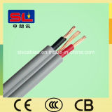 BS6004 6242y Flat PVC Electric Wire 1.5mm Cable