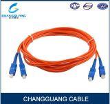 HDMIのためのPU/Upc/APC 2mmのパッチ・コード