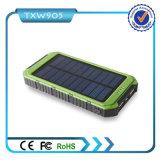 2016 bloc d'alimentation mobile solaire du côté 10000mAh de pouvoir de la meilleure grande capacité de qualité pour des smartphones