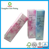 Caja de embalaje cosmética plegable de la impresión