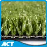 Campo artificial do tamanho padrão da grama do tênis do verde de cal