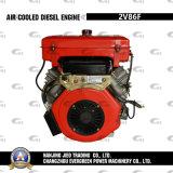 空気によって冷却されるディーゼル機関2V86f